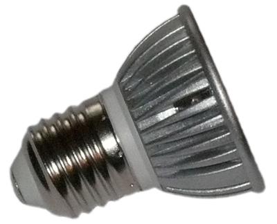 led lampe 12 volt dc 3x1 watt e27 mit geriffelten scheiben. Black Bedroom Furniture Sets. Home Design Ideas