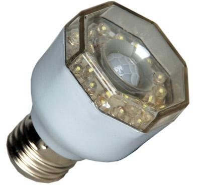 led lampe 3 watt mit eingebautem bewegungsmelder www. Black Bedroom Furniture Sets. Home Design Ideas