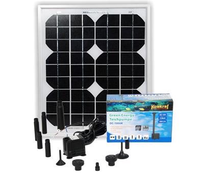 solar teichpumpen set incl solarmodul 12 v. Black Bedroom Furniture Sets. Home Design Ideas