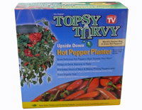 TOPSY TURVY Hot Pepper Planter H�ngepflanzer Chili