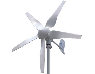 Windkraftanlage fur den garten