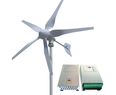 windrad windturbine 400 watt 24 volt mit windkraftladeregler und shunt. Black Bedroom Furniture Sets. Home Design Ideas